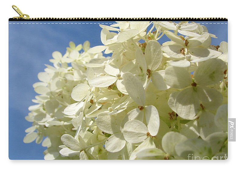 Hydranga Carry-all Pouch featuring the photograph Hydrangea by Amanda Barcon