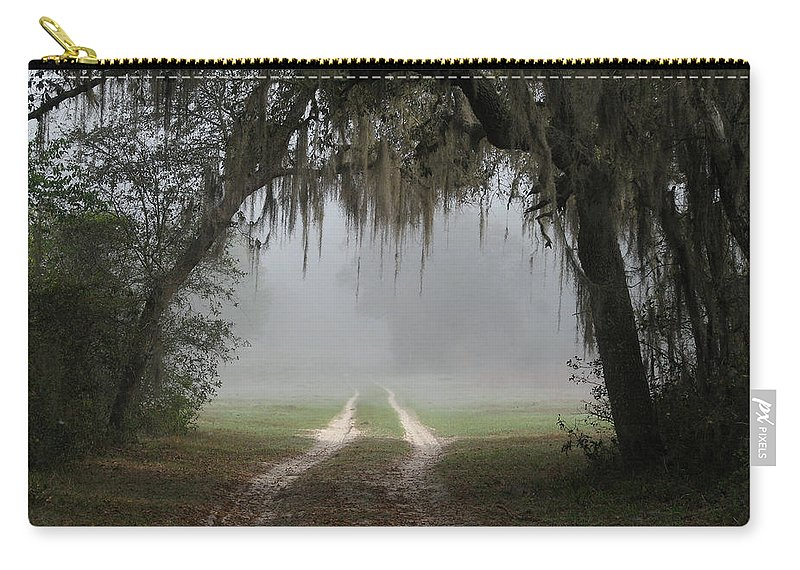 Nature Carry-all Pouch featuring the photograph Into The Light by Peg Urban