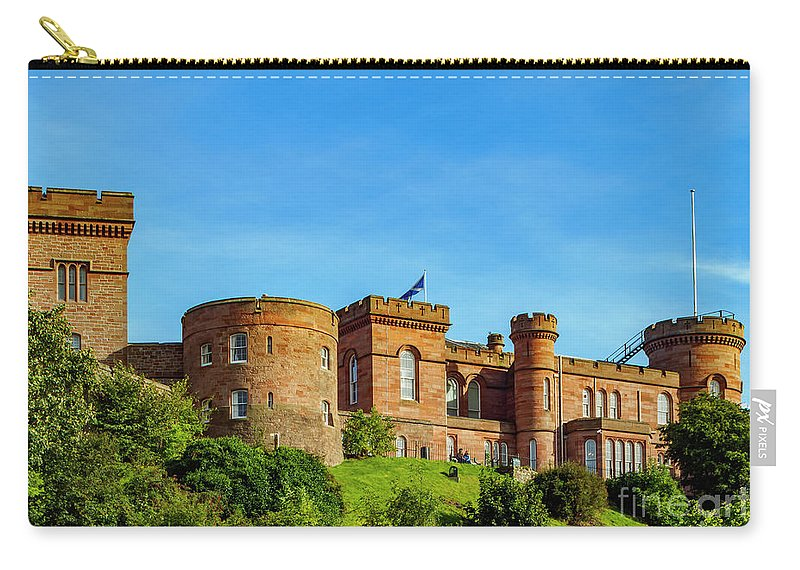 Inverness Carry-all Pouch featuring the photograph Inverness Castle, Scotland by Karol Kozlowski
