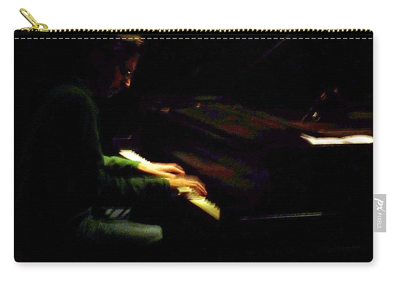 Jazz Carry-all Pouch featuring the photograph Jazz Estate 7 by Anita Burgermeister