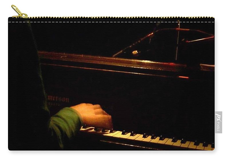 Jazz Carry-all Pouch featuring the photograph Jazz Estate 8 by Anita Burgermeister