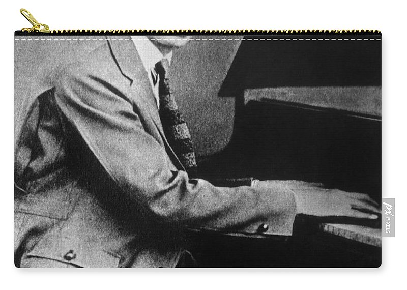 19th Century Carry-all Pouch featuring the photograph Jelly Roll Morton. For Licensing Requests Visit Granger.com by Granger