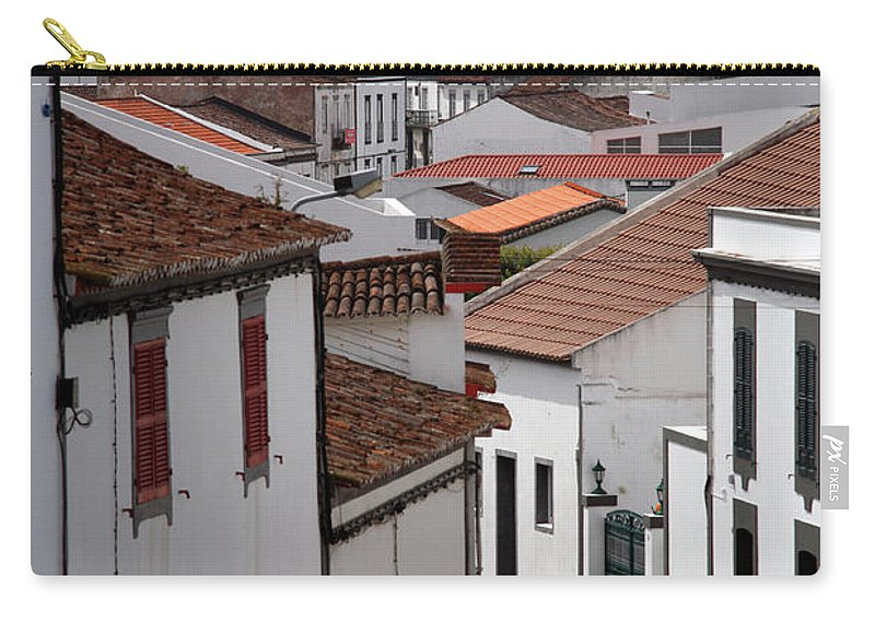 Lagoa Carry-all Pouch featuring the photograph Lagoa - Azores Islands by Gaspar Avila