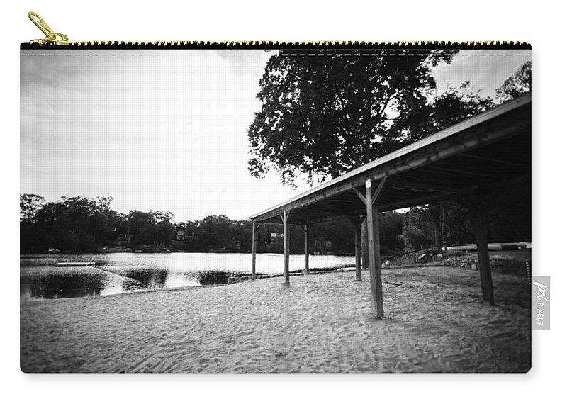 Lake Waubeeka Carry-all Pouch featuring the photograph Lake Waubeeka by Vanessa Peterson