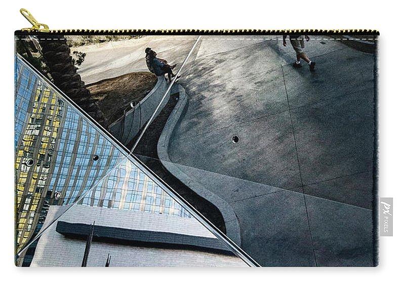 Las Vegas Carry-all Pouch featuring the photograph Las Vegas Strip 0280 by Bob Neiman