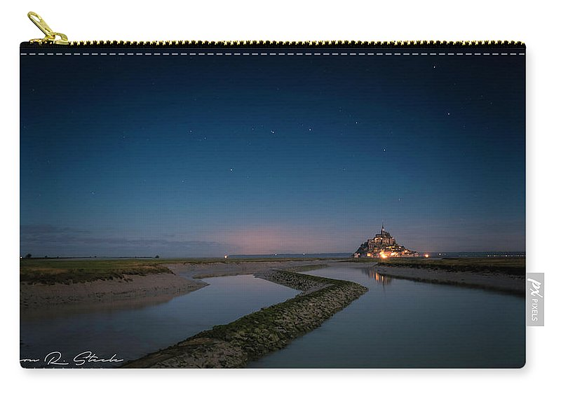 Water Carry-all Pouch featuring the photograph Le Mont Saint Michel by Jason Steele