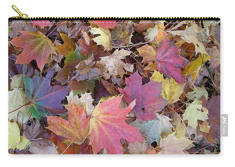 Leaf Carry-all Pouch featuring the digital art Leaf by Mery Moon