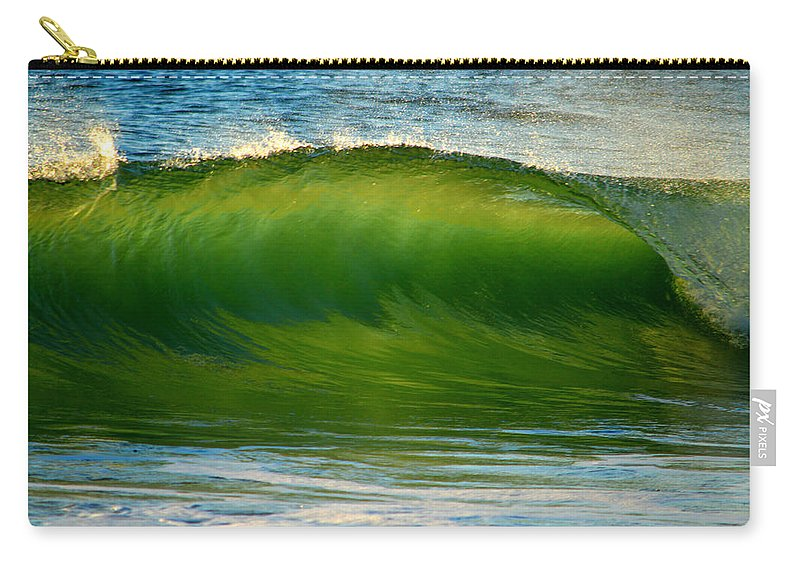 Ocean Carry-all Pouch featuring the photograph Let It Flow 1 by Dianne Cowen
