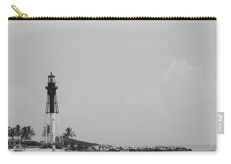 Landscape Carry-all Pouch featuring the photograph Lighthouse Point by Rob Hans