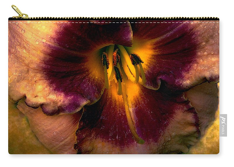 Lily Carry-all Pouch featuring the photograph Lily by Mim White