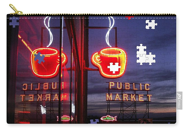 Seattle Carry-all Pouch featuring the photograph Market Cup by Tim Allen