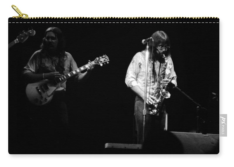 Marshall Tucker Carry-all Pouch featuring the photograph Marshall Tucker Winterland 1975 #32 by Ben Upham