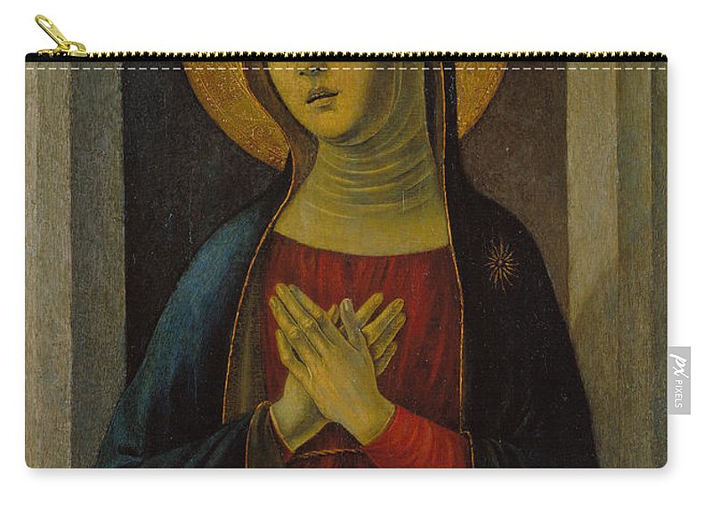 Baldassare D'este Carry-all Pouch featuring the painting Mater Dolorosa by Baldassare d'Este