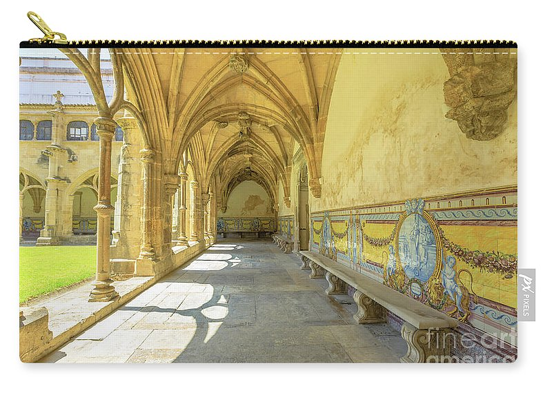 Coimbra Carry-all Pouch featuring the photograph Monastery Of Santa Cruz by Benny Marty