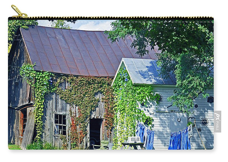 Wash Carry-all Pouch featuring the photograph Monday Monday by Rodney Campbell