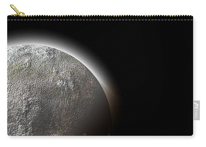 Moon Carry-all Pouch featuring the photograph Moon by FL collection