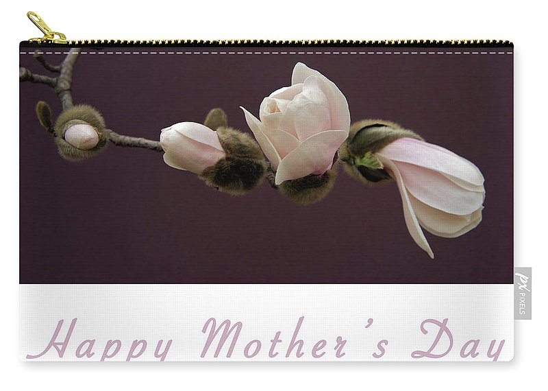 Mothers Day Card Carry-all Pouch featuring the photograph Mothers Day Card by Michael Peychich