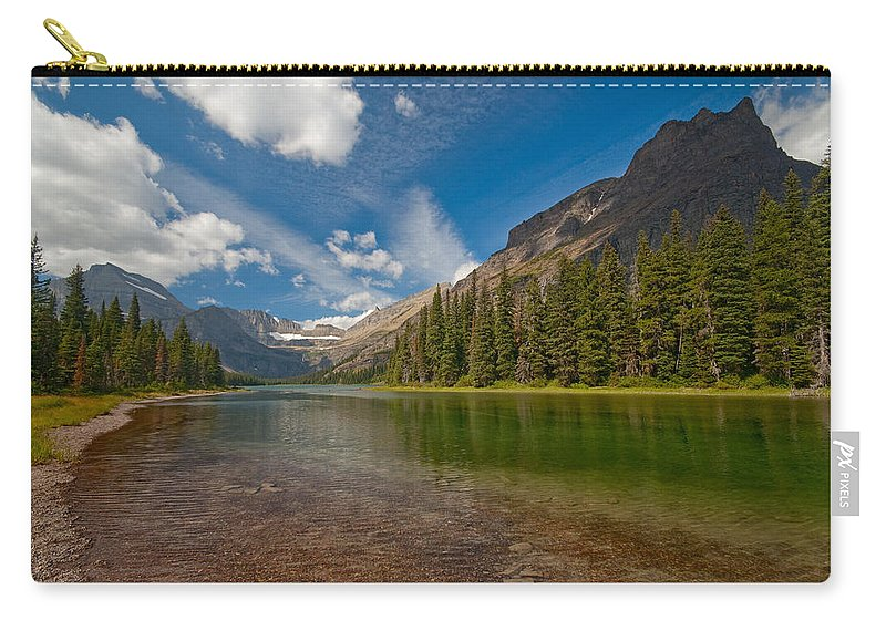 Nature Carry-all Pouch featuring the photograph Moutain Lake by Sebastian Musial