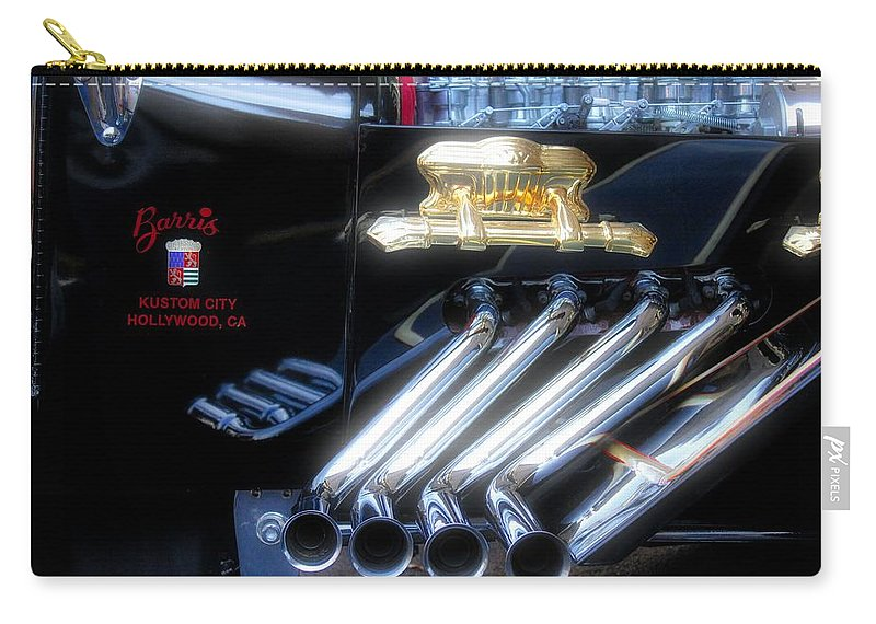 George Barris Carry-all Pouch featuring the photograph Munster Koach by Todd Dunham