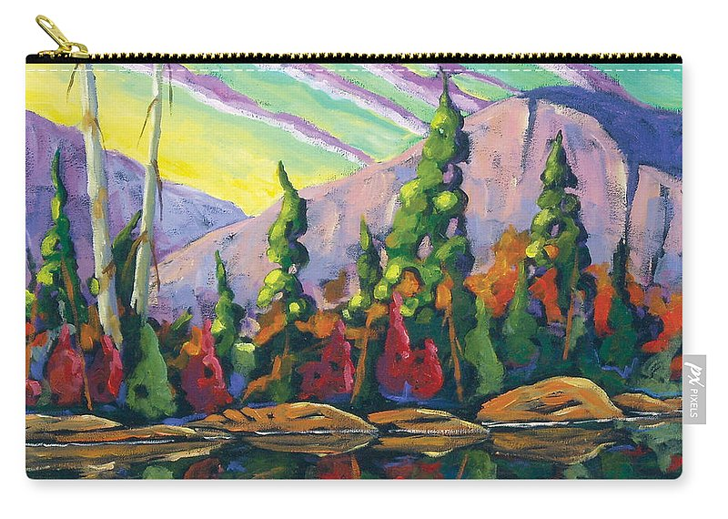 Art Carry-all Pouch featuring the painting Nature Expression by Richard T Pranke