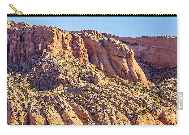 National Carry-all Pouch featuring the photograph Navajo National Monument Canyons by Alex Grichenko
