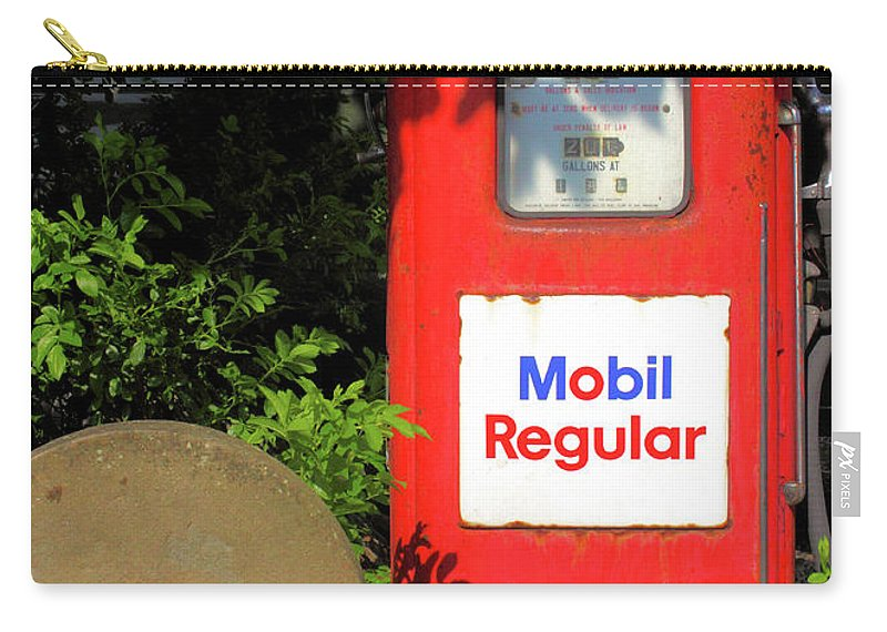 Nostalgia Carry-all Pouch featuring the photograph Need Gas? by Robert McCulloch