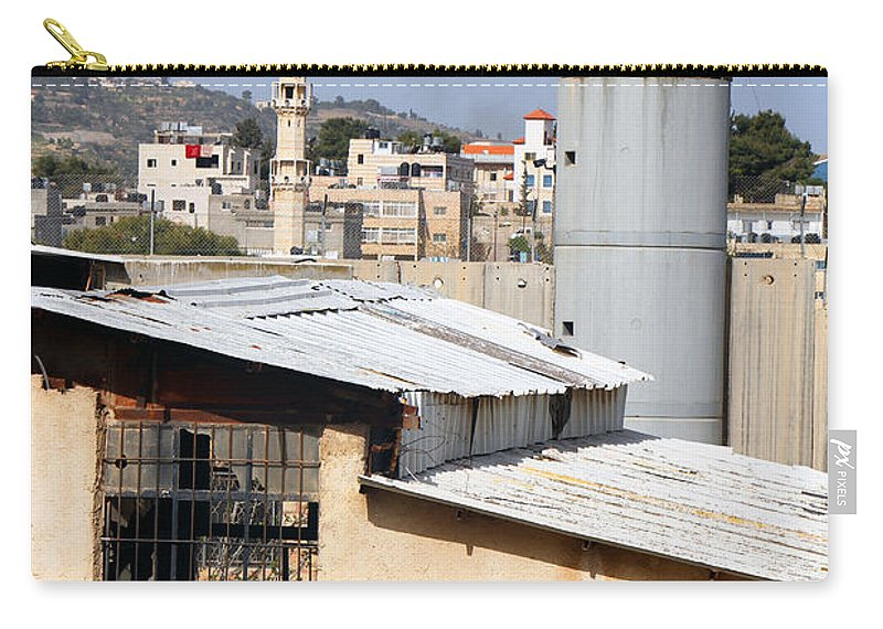 Neighbor Carry-all Pouch featuring the photograph Neighbor by Munir Alawi