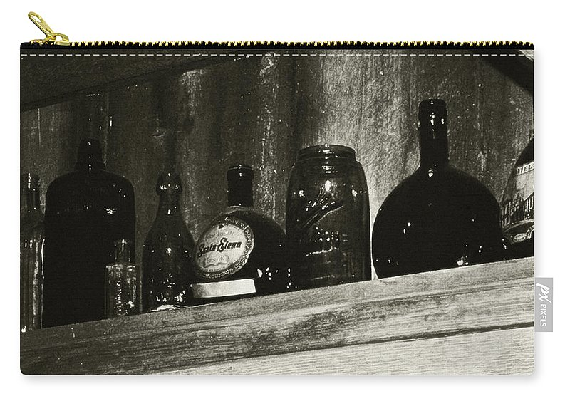 Antiques Carry-all Pouch featuring the photograph Old And Forgotten by RC DeWinter