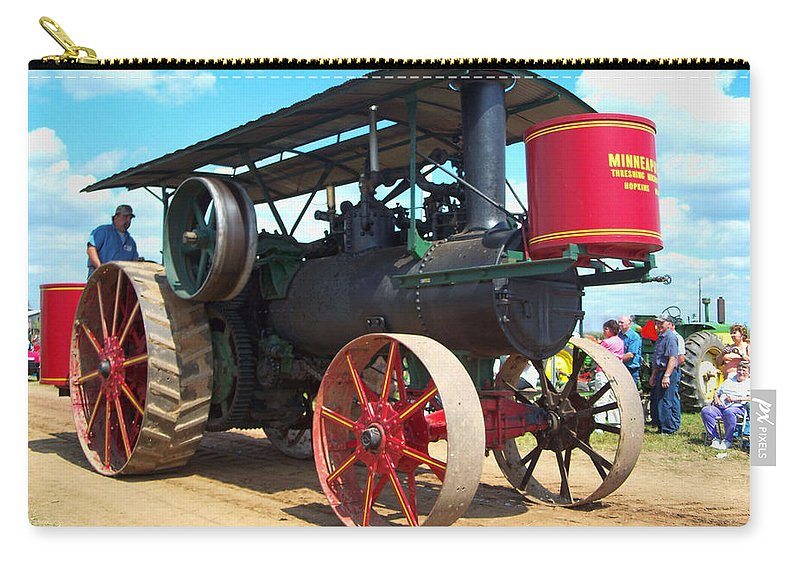 Farming Carry-all Pouch featuring the photograph Old Timer by Tommy Anderson