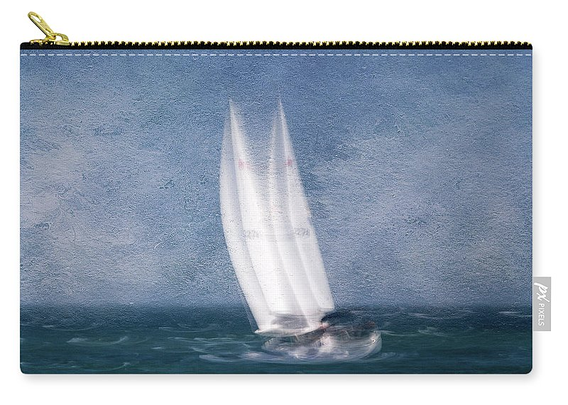 Usa Carry-all Pouch featuring the photograph On The Sound by John Whitmarsh
