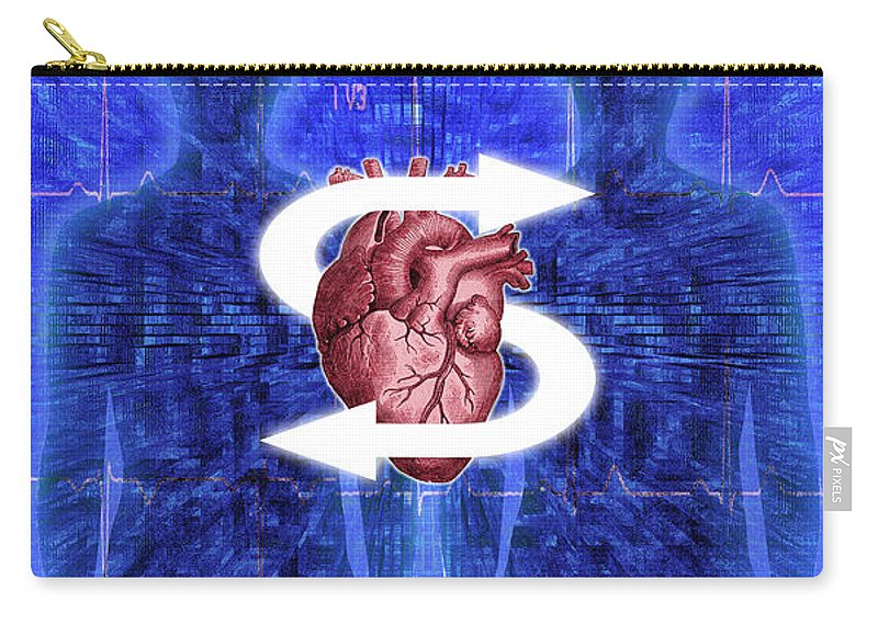 Organ Donation Carry-all Pouch featuring the photograph Organ Donation by George Mattei
