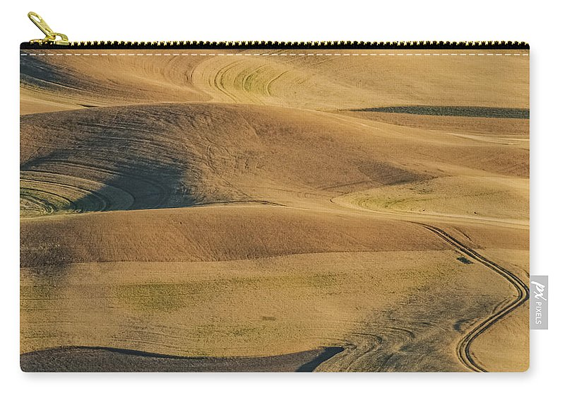 Jean Noren Carry-all Pouch featuring the photograph Palouse Palate by Jean Noren