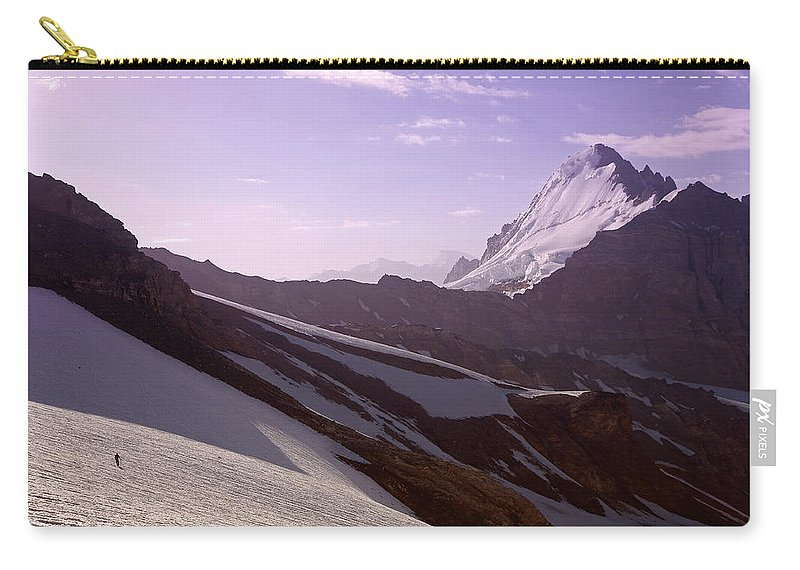 Beautiful Carry-all Pouch featuring the photograph Pamir by Konstantin Dikovsky