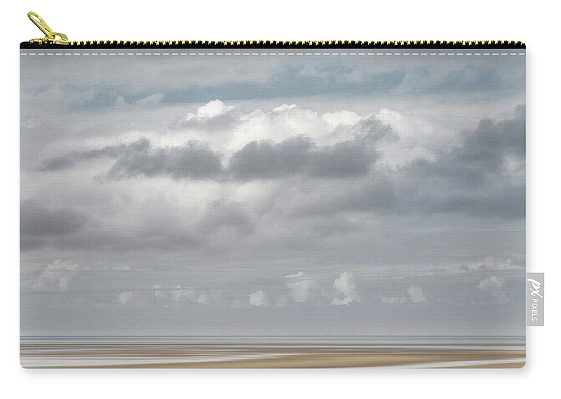 Usa Carry-all Pouch featuring the photograph Patch Of Blue by John Whitmarsh