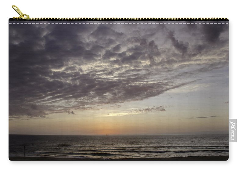 Atlantic Ocean Carry-all Pouch featuring the photograph Peeking Through 1 by Teresa Mucha
