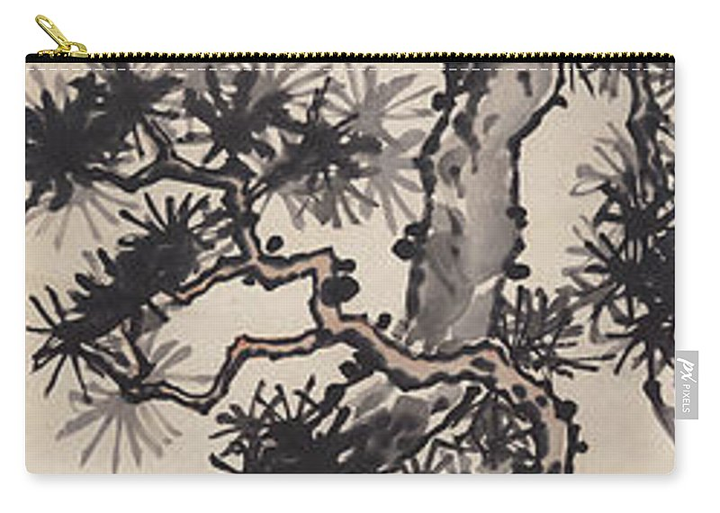 Zhang Daqian (10 May 1899 – 2 April 1983) Was One Of The Best-known And Most Prodigious Chinese Artists Of The Twentieth Century. Originally Known As A Guohua (traditionalist) Painter Carry-all Pouch featuring the painting Pine by Zhang Daqian