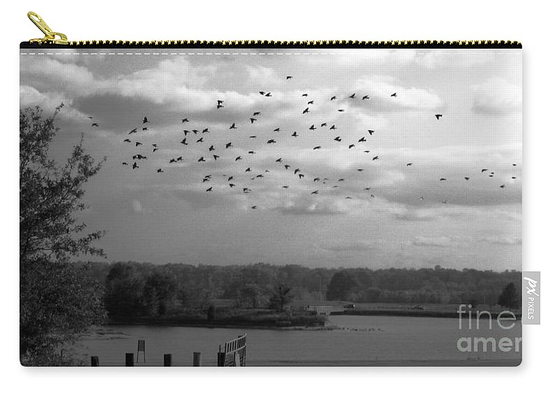 Pond Carry-all Pouch featuring the photograph Pond by Amanda Barcon