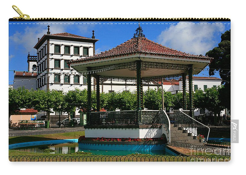 Europe Carry-all Pouch featuring the photograph Ponta Delgada by Gaspar Avila
