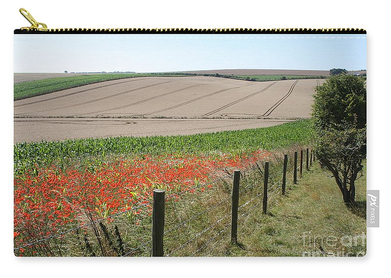 Landscape Carry-all Pouch featuring the photograph Poppies by Robert Harris