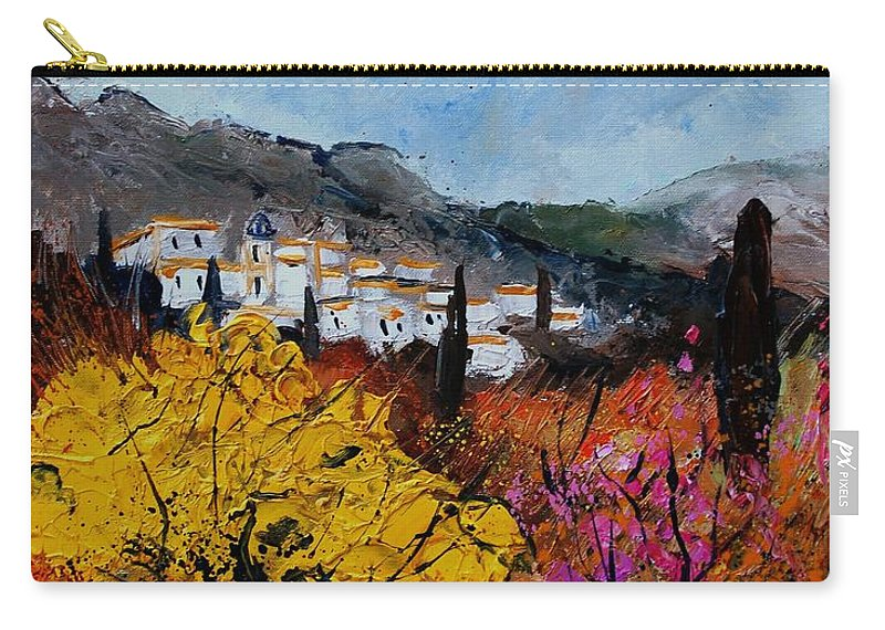 Provence Carry-all Pouch featuring the painting Provence by Pol Ledent