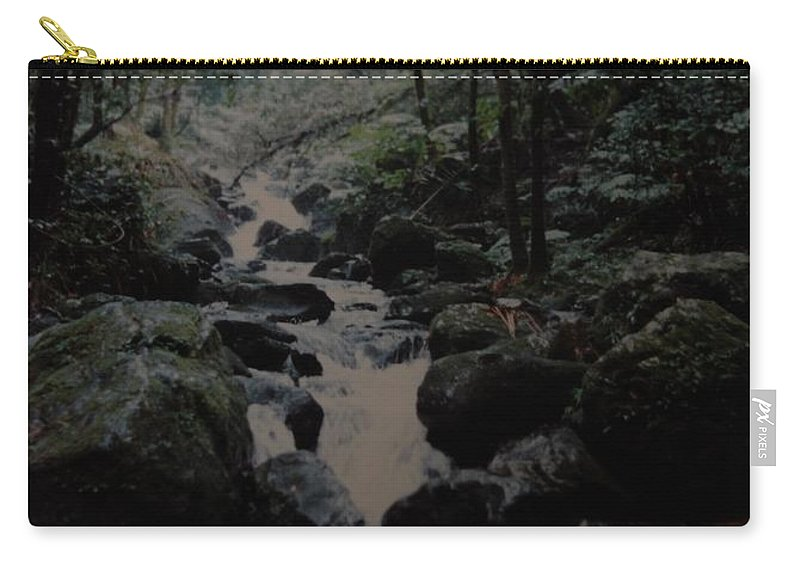 Water Carry-all Pouch featuring the photograph Puerto Rico Water by Rob Hans