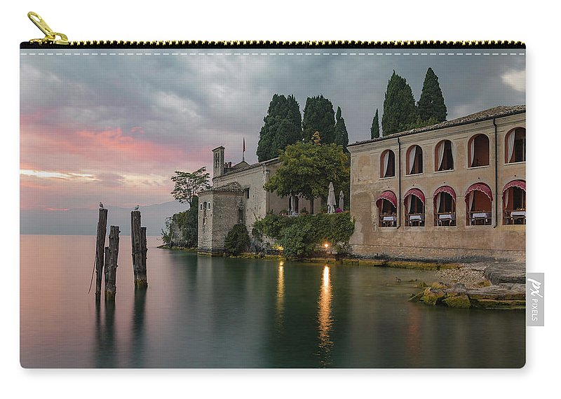 Punta San Vigilio Carry-all Pouch featuring the photograph Punta San Vigilio - Italy by Joana Kruse