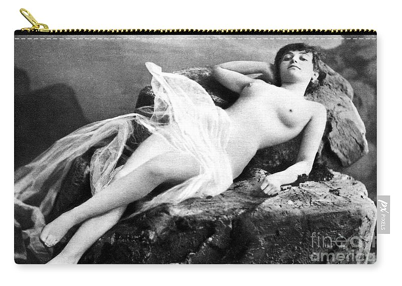 Carry-all Pouch featuring the painting Reclining Nude, C1895 by Granger