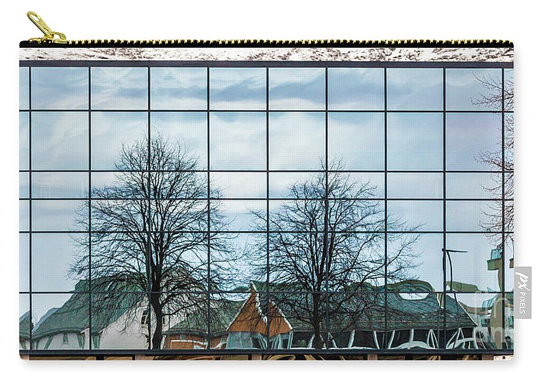 Ulsteinvik Carry-all Pouch featuring the photograph Reflection by Arild Lilleboe