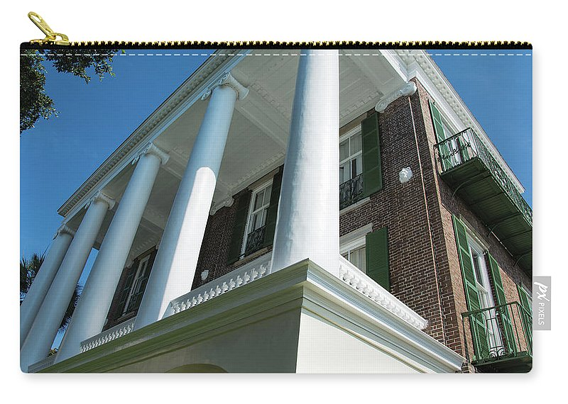 Roper Carry-all Pouch featuring the photograph Robert Wm Roper House by Ed Waldrop