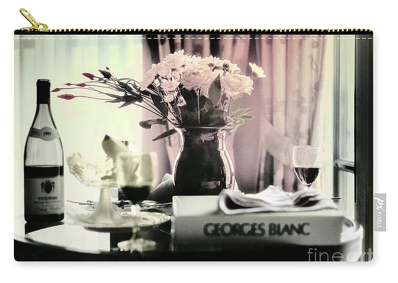 Romance Carry-all Pouch featuring the photograph Romance In The Afternoon by Madeline Ellis