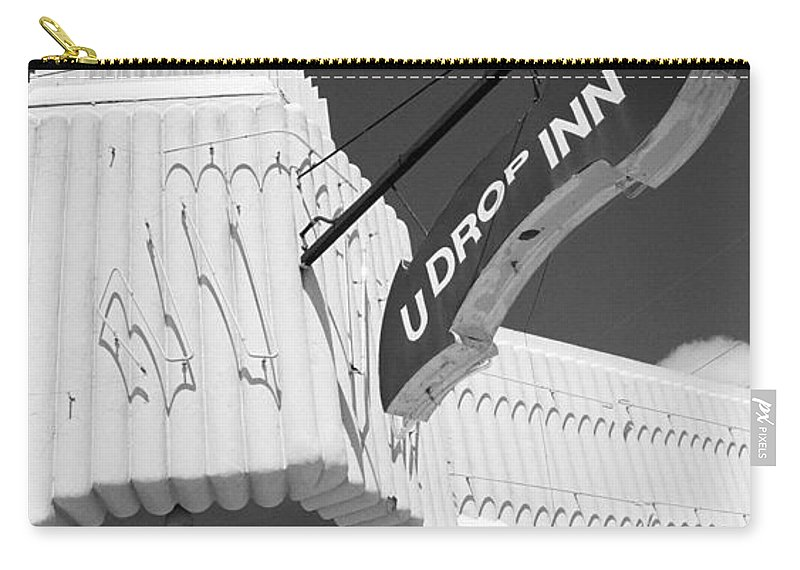 66 Carry-all Pouch featuring the photograph Route 66 - Conoco Tower Station by Frank Romeo