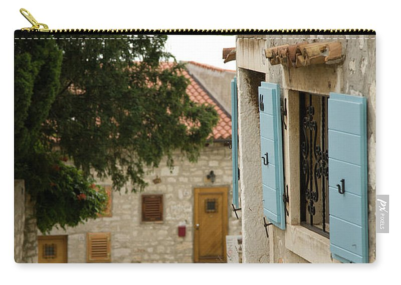 Croatia Carry-all Pouch featuring the photograph Rovinj by Ian Middleton