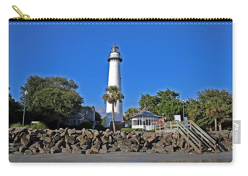Water Carry-all Pouch featuring the photograph Saint Simons Island by David Campbell