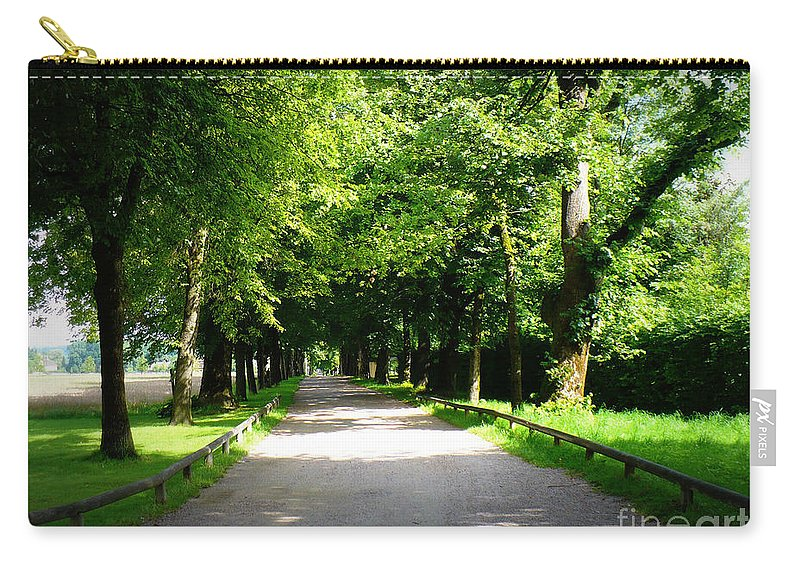 Lane Carry-all Pouch featuring the photograph Salzburg Lane by Carol Groenen